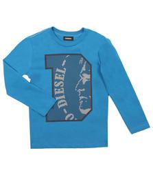 Diesel Boys Blue Boys Turik T Shirt