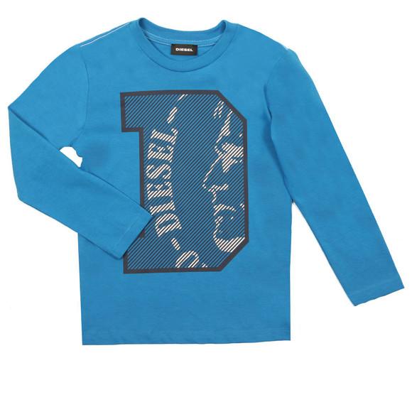 Diesel Boys Blue Boys Turik T Shirt main image