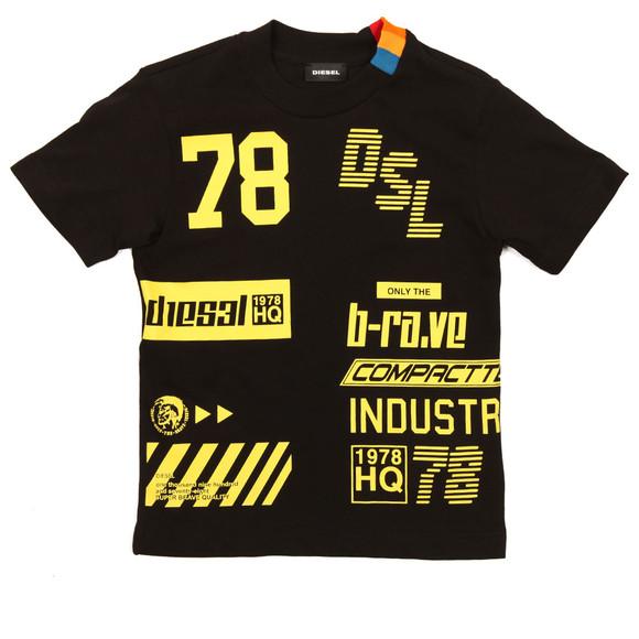 Diesel Boys Black Boys Tangx T Shirt main image