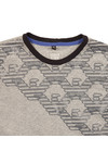 Armani Junior  Boys Grey 6Y4T09 Graphic T Shirt