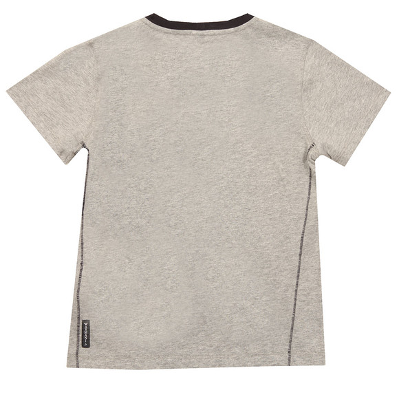 Armani Junior  Boys Grey 6Y4T09 Graphic T Shirt main image