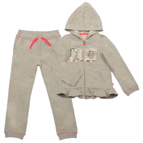 Billieblush Girls Grey U18078 Track Suit main image