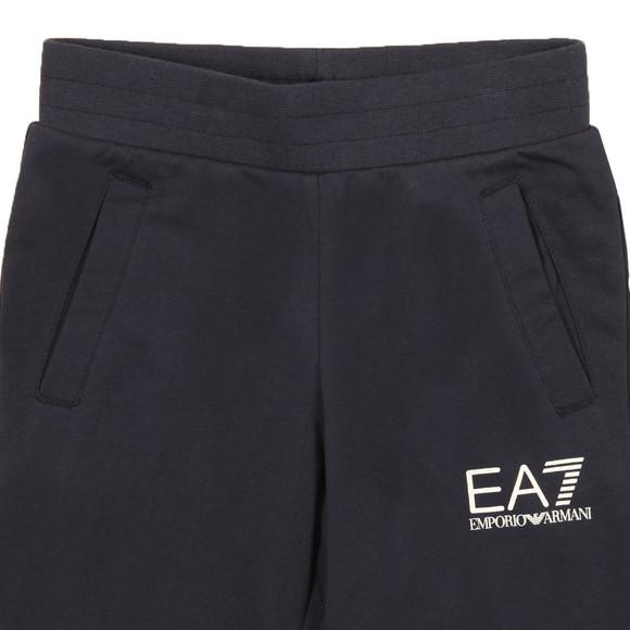 EA7 Emporio Armani Boys Blue Boys Small Logo Sweatpant main image