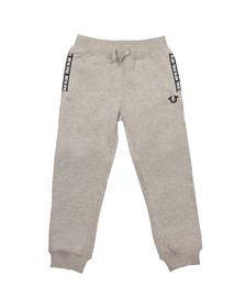 True Religion Boys Grey TR Tape Sweatpant