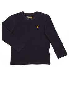 Lyle And Scott Junior Boys Blue Classic Long Sleeve T Shirt