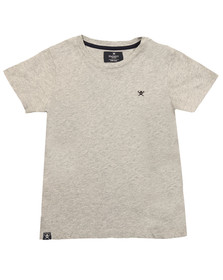 Hackett Boys Grey Boys Logo T Shirt