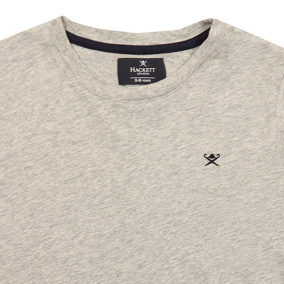 Hackett Boys Grey Boys Logo T Shirt main image