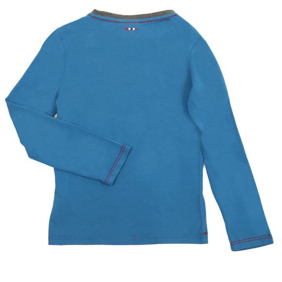 Napapijri Boys Blue Large Logo T Shirt main image