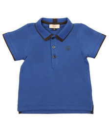Armani Baby Boys Blue 6YHF01 Polo Shirt