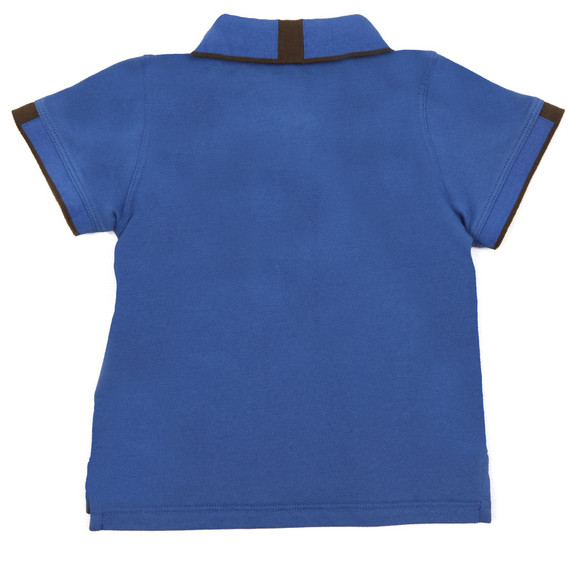 Armani Baby Boys Blue 6YHF01 Polo Shirt main image