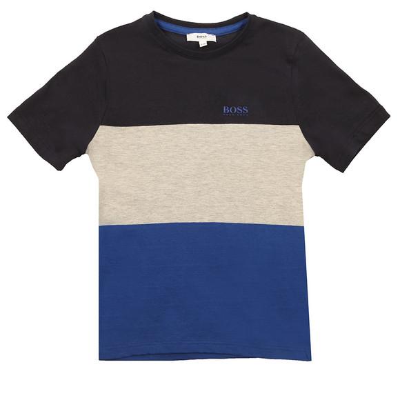 Boss Boys Blue J25B64 T Shirt main image