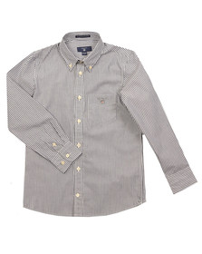 Gant Boys Blue The Broadcloth Banker Shirt