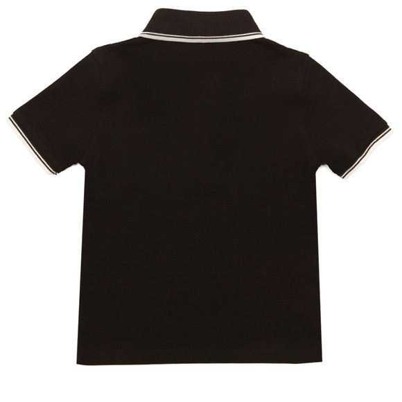Boss Boys Black Tipped Polo Shirt main image