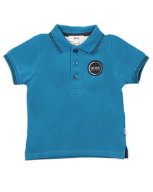 Boss Boys Blue Baby J05604 Polo Shirt