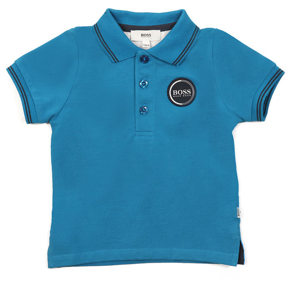 BOSS Bodywear Boys Blue Baby J05604 Polo Shirt main image