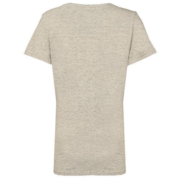 Superdry Womens Grey MFG Gel Long Line T Shirt main image
