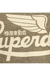 Superdry Womens Grey Limited Icarus Knot T-Shirt