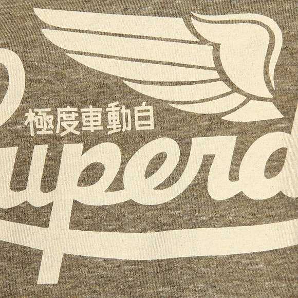 Superdry Womens Grey Limited Icarus Knot T-Shirt main image
