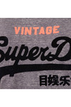 Superdry Womens Blue Shirt Shop New Slim BF T-Shirt