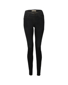 Levi's Womens Black 710 Super Skinny Jean