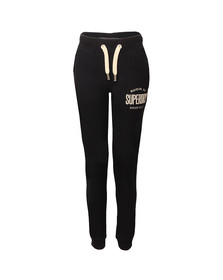 Superdry Womens Blue Applique Slim Jogger