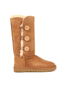 Ugg Womens Brown Bailey Button Triplet II Boot