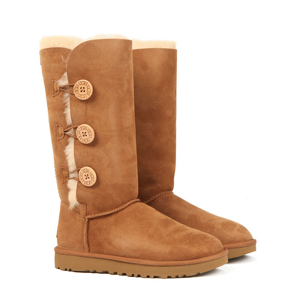 Ugg Womens Brown Bailey Button Triplet II Boot main image