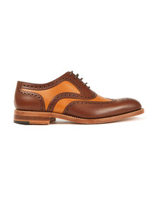 Loake Mens Brown Tarantula Shoe