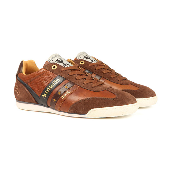 Pantofola d'Oro Mens Brown Vasta Uomo Low Trainer main image