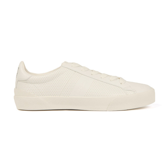 Superdry Mens White Vintage Court Trainers main image