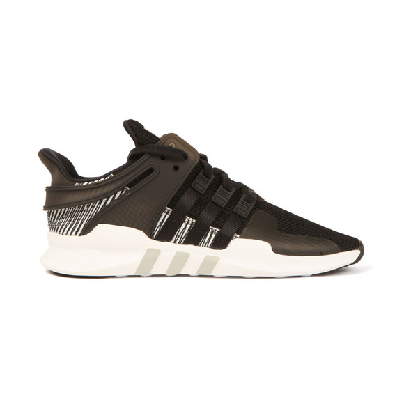 adidas Originals Mens Black EQT Support ADV Trainers main image