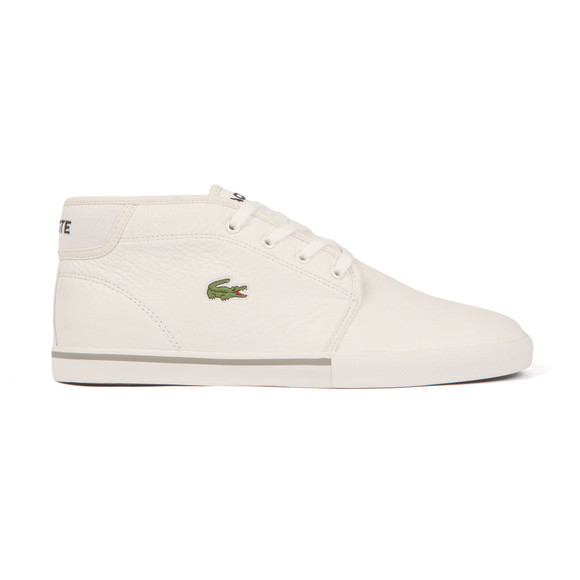 Lacoste Sport Mens White Ampthill LCR3 SPM Trainer main image