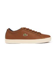 Lacoste Mens Brown Straightset SP 317 Trainer