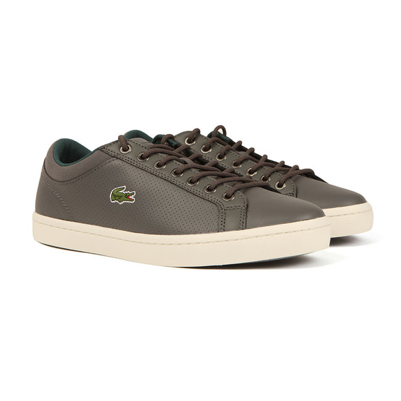 Lacoste Mens Grey Straightset SP 317 Trainer main image
