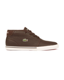 Lacoste Sport Mens Brown Ampthill LCR3 SPM Trainer