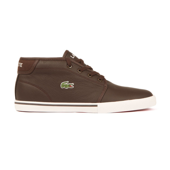 Lacoste Sport Mens Brown Ampthill LCR3 SPM Trainer main image