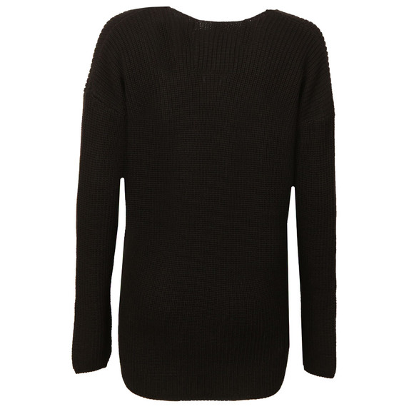 Superdry Womens Black Almeta Vee Knit  main image