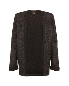Maison Scotch Womens Black Basic Sweat Blazer