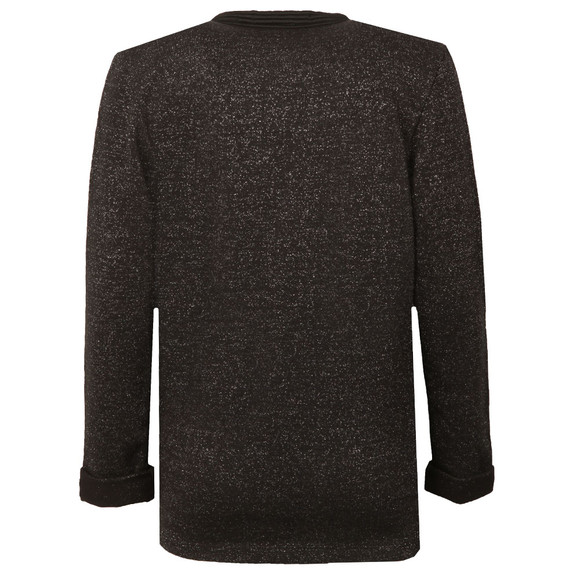 Maison Scotch Womens Black Basic Sweat Blazer main image