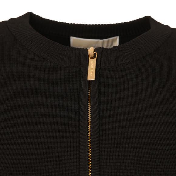 Michael Kors Womens Black Zip Cardi  main image