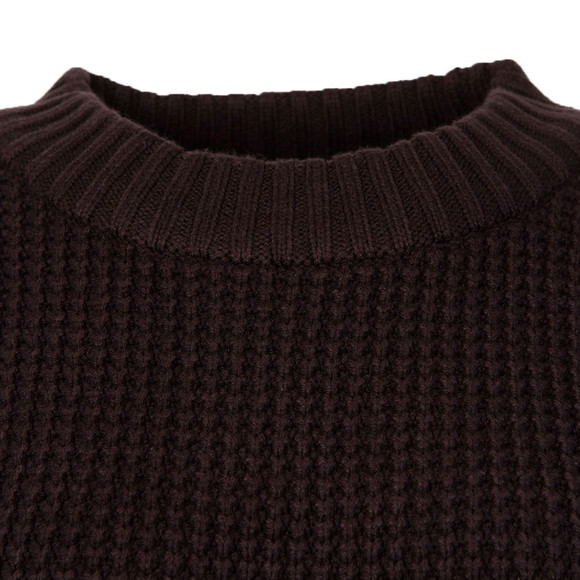 French Connection Womens Blue Ellie Waffle Knit Jumper main image