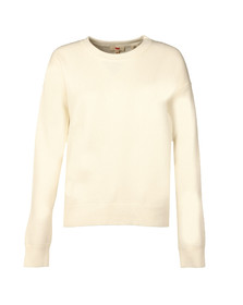 Levi's Womens White Sporty Sweater