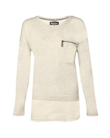 Barbour International Womens Grey Heyford Sweat