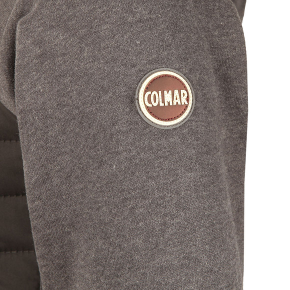 Colmar Mens Black Full Zip Hooded Sweatshirt main image