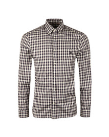 Aquascutum Mens Blue York  Club Check Shirt