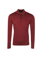 Kennington Long Sleeve Knit Polo