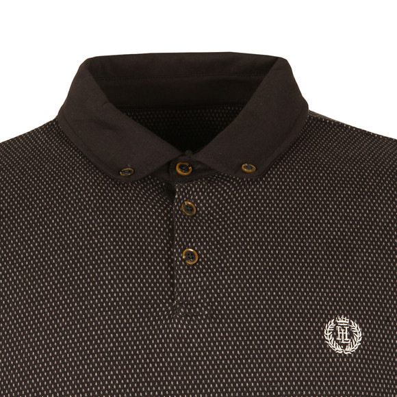 Henri Lloyd Mens Black L/S Mullan Polo main image
