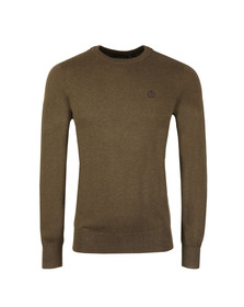 Henri Lloyd Mens Brown Miller Crew Neck Jumper