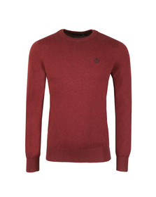 Henri Lloyd Mens Red Miller Crew Neck Jumper
