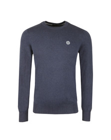 Henri Lloyd Mens Blue Miller Crew Neck Jumper